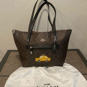 Coach New York Stories Taylor tote